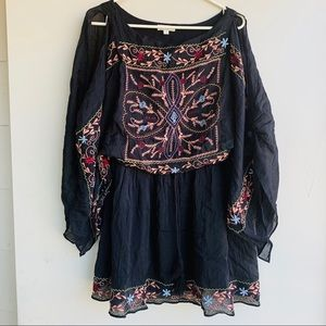 UmGee Embroidered Romper Sz M